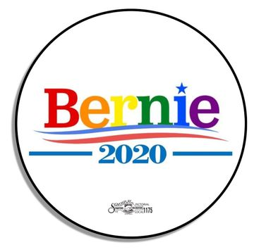 Bernie Pride 2020 Button
