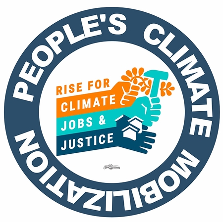 Peoples Climate March Button
