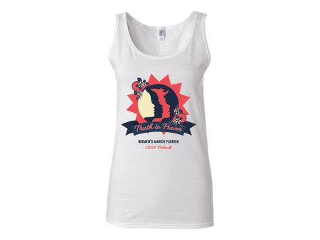 """""""Truth to Power"""" Orlando 1.19.19 Women's March Florida Tank Top"""