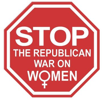 Stop the Republican War on Women Bumper Sticker