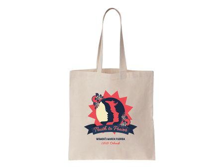 """Truth to Power"" Orlando 1.19.19 Women's March Florida Tote Bag"