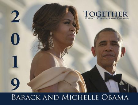 2019 Barack and Michelle Obama (Together)13 Month Calendar