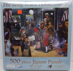 SunsOut 37650 The long Track Home by James Dietz 500 piece puzzle