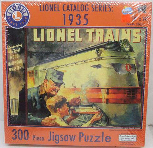 SunsOut 20935 Lionel Catalog Series: 1935 - 300 piece puzzle