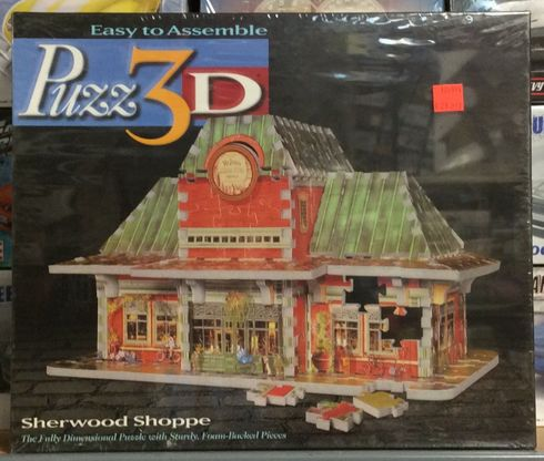 Hasbro 49097 Sherwood Shoppe 272 pieces 3-D puzzle