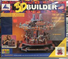Play hut 88062 3-D builder puzzle carousel