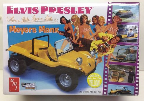 AMT 847/12 Elvis Presley 1:25 Myers Manx Dune Buggy Model Kit