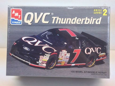 AMT 8706 QVC Thunderbird #7 1:25th Scale Model Kit