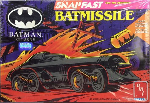 AMT Ertl 6614 Snap fast Batmissle model kit 1/25 scale Batman Returns