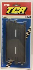 "Tyco TCR 6423 6"" Straight Track Slotless HO Scale"
