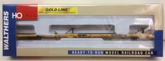 Walthers 932-40804 TTWX All Purpose Flat Car With ACF Hitches HO Scale