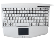Adesso ACK-540UW – Mini Wired Touchpad Keyboard (White)