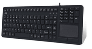 Adesso Antimicrobial Waterproof Touchpad Keyboard