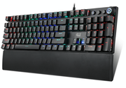 Adesso RGB Programmable Mechanical Gaming Keyboard with Detachable Magnetic Palmrest
