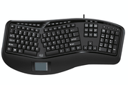 Adesso Tru-Form™ 450 – Wired Ergonomic Touchpad Keyboard