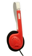 AE-812 Auto Sound Limiting Headset - Red