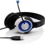 AVID AE-55 USB Headphone with Carrying Case, 12 Pack, Blue