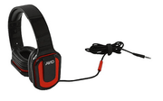 AVID AE-66 - Headphones with mic - Red