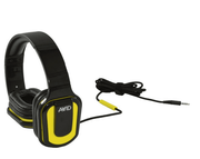 AVID AE-66 - Headphones with mic - Yellow