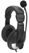 Avid Education 8EDU-12CPSM-B25VC Headphones - Classroom 12 Pack, Case, Black & Silver