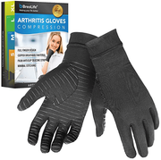 BreoLife Compression Gloves - Copper Fit Arthritis Gloves