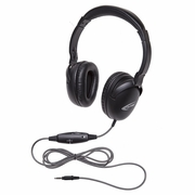 Califone 1017IMT NeoTech Plus Series Headset with 3.5mm stereo plug, unidirectional inline microphone.