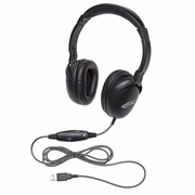Califone 1017IMUSB NeoTech Plus Series Headset USB with Unidirectional inline Microphone