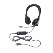Califone 1025MU NeoTech Series Headset, USB plug,  unidirectional microphone