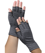 EasyComforts Womans Light Compression Gloves with Grippers