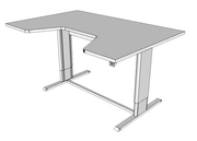 Populas Infinity Adjustable Command Center with Comfort Curve