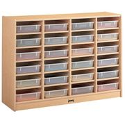 Jonti-Craft® 24 Paper-Tray Mobile Storage - without Paper-Trays
