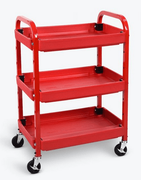 Luxor Adjustable Utility Cart - Three Shelves