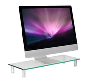 Mount-It! Glass Riser Display & Laptop Stand
