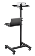 Mount-It! Portable Height Adjustable Laptop & Projector Stand