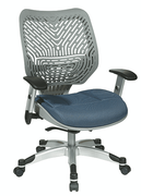 Office Star Unique Self Adjusting Fog SpaceFlex Back Managers Chair