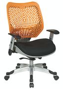 Office Star Unique Self Adjusting SpaceFlex Colored Back Managers Chairs