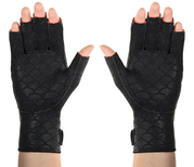 Thermoskin Arthritic Fingerless Gloves, Black