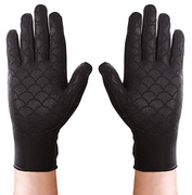 Thermoskin Full Finger Arthritis Gloves, Black