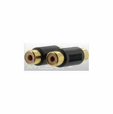 ATLONA HIGH-QUALITY DUAL RCA COUPLER FOR AUDIO CABLE EXTENSION
