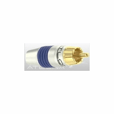 ATLONA RCA CONNECTOR ( BLUE COLOR ) - SOLDER TYPE