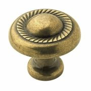 Burnished Brass Knobs and Pulls