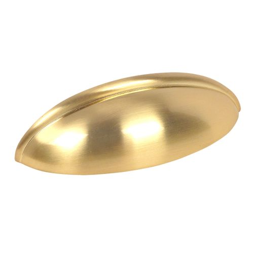 Cosmas 1399BB Brushed Brass Cabinet Cup Pull