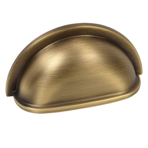 Cosmas 4310BAB Brushed Antique Brass Cabinet Cup Pull