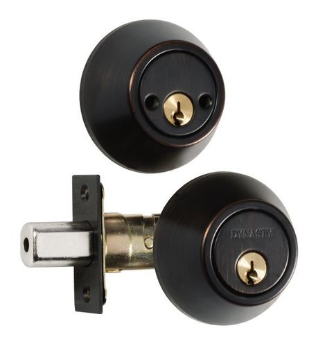 Dynasty Double Cylinder Deadbolt Oil Rubbed Bronze