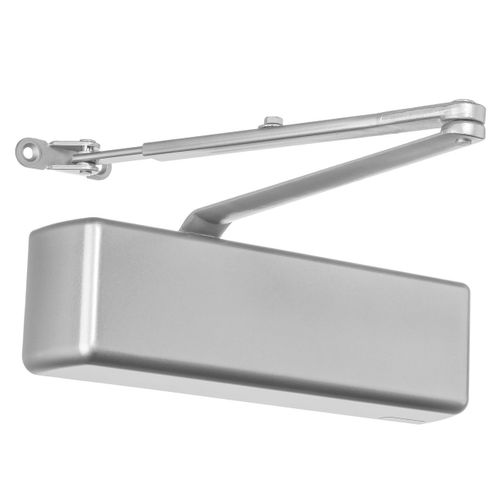 Dynasty Hardware 4401-ALUM Surface Mount Heavy Duty Commercial Door Closer, Sprayed Aluminum