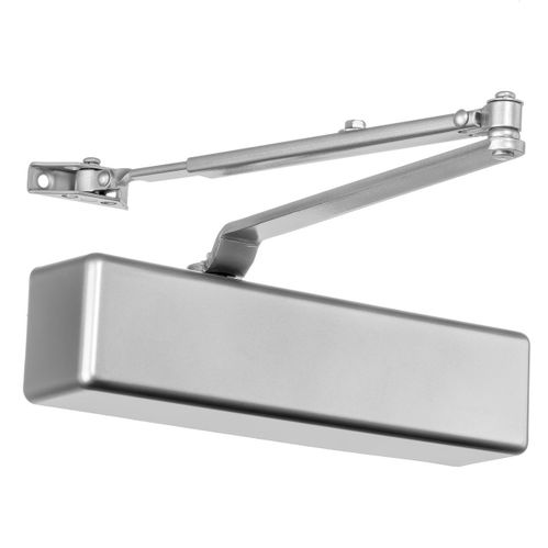 Dynasty Hardware 9000-ALUM Surface Mount Door Closer, Sprayed Aluminum