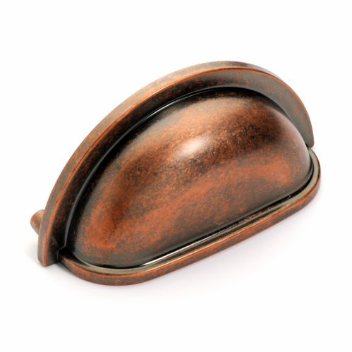 Dynasty Hardware P-2769-AC Cabinet Bin Pull Antique Copper