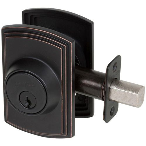 Italian Collection Oil Rubbed Bronze Deadbolt