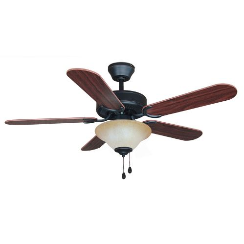 "Oil Rubbed Bronze 42"" Ceiling Fan w/ Light Kit"