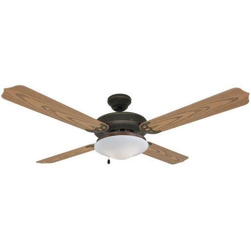 "Oil Rubbed Bronze 52"" Outdoor Ceiling Fan : 4224"